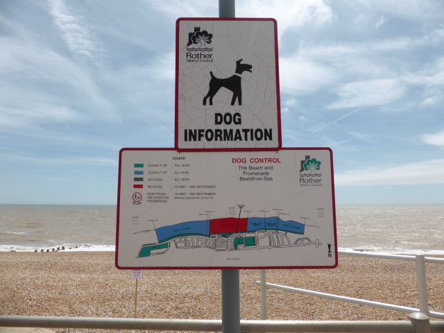 Keep dog litter out of the sea